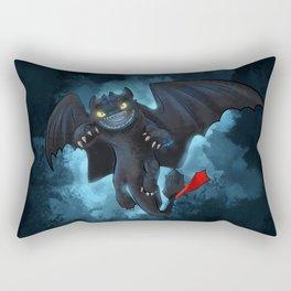 Alpha Toothless Rectangular Pillow