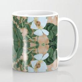forest fairy white flower crown Coffee Mug