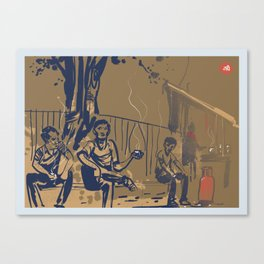 Tapri - Indian Tea Stall Canvas Print