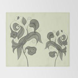 Botanica 4 Throw Blanket