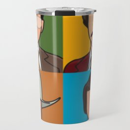 Anchorman Pop Art Travel Mug