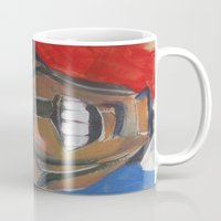 obama Mugs featuring Obama Abstract by creativecurran
