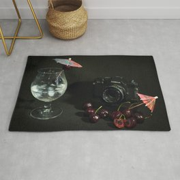 Cosina and Cherry cocktail Rug