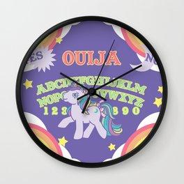 My Little Pony Ouija Board Wall Clock