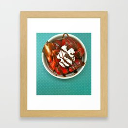 Strawberry Delight Framed Art Print