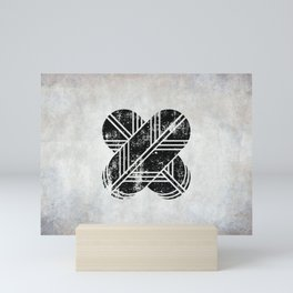 Kikuchi Clan · Black Mon · Distressed Mini Art Print
