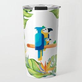 Nature bird / Nature design carton / Psittaciformes/ nature parrot/  2019 unisex t-shirt Travel Mug