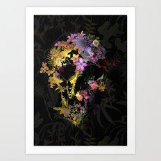 Spring Skull Art Print
