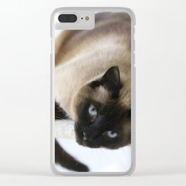 Hey You Clear iPhone Case