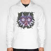 majoras mask Hoodies featuring Triangle Majora's Mask by NeleVdM