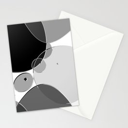 Circle Series - Chrome Stationery Cards