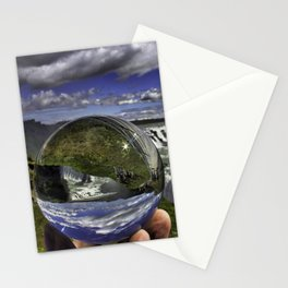 Gullfoss Crystal Ball 2 Stationery Cards