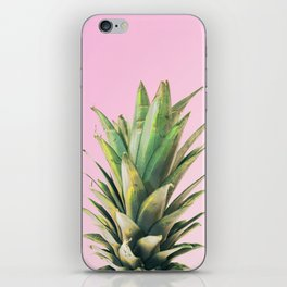 Pineapple Pink iPhone Skin