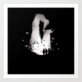 death hallow Art Print