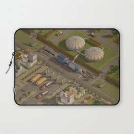 Biogas City Laptop Sleeve