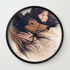 Antaeus Wall Clock
