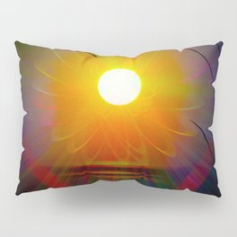 Abstract in perfection - Fertile Imagination sunrise Pillow Sham