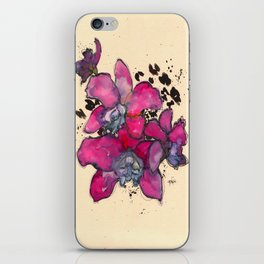 Fuchsia Orchids iPhone Skin