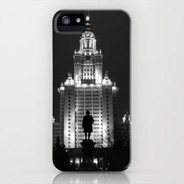 Night Life of Alma Mater iPhone Case