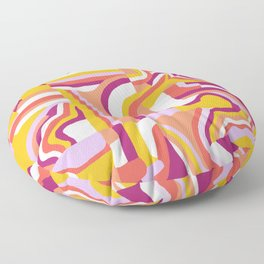 LOLA, Geo Abstract Floor Pillow