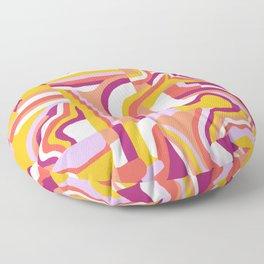 LOLA, Geo Abstract Floor Pillow