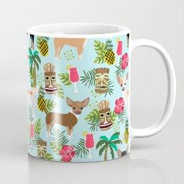 Chihuahua Tiki design - Summer tropical dog design Coffee Mug