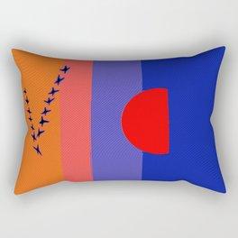 Fly Into The Sunset Rectangular Pillow