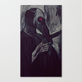 plague test Canvas Print