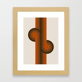 Cocoa Knots Framed Art Print