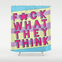 inspiration Shower Curtains featuring Inspiration by Tiffany 10