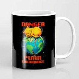 Purr Earthquake Coffee Mug