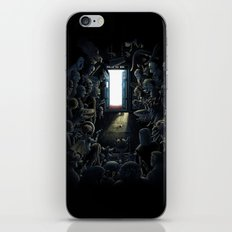 Waiting Doctor Who iPhone & iPod Skin