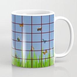 Butterflies at my Window Coffee Mug