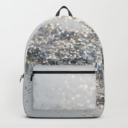 Silver Gray Glitter #2 #shiny #decor #art #society6 Backpack