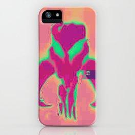 Glitchy Mandalorian iPhone Case