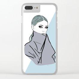 Digital Clear iPhone Case