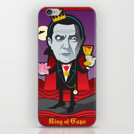 King of Cups iPhone Skin