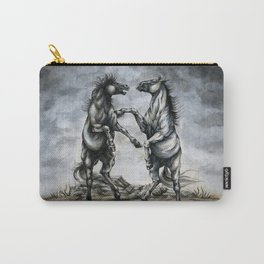 Fighting Horses Carry-All Pouch