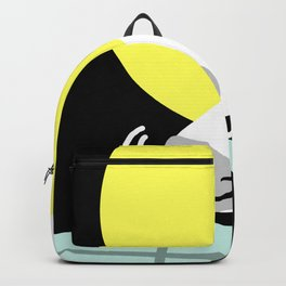 Dog Sniffing Kite by the Light of the Moon Backpack