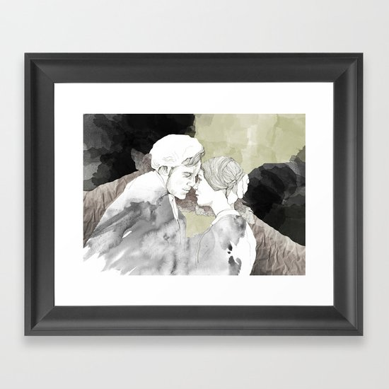 Jane Eyre Editorial #1 Framed Art Print