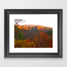 Autumn in Tennessee Framed Art Print