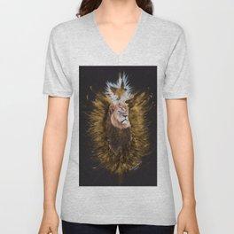 PeaceBombing Cecil Lion Unisex V-Neck