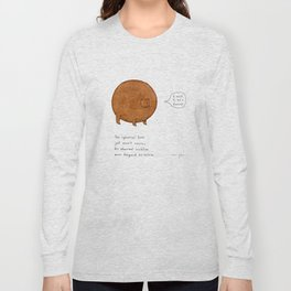 the spherical bear Long Sleeve T-shirt