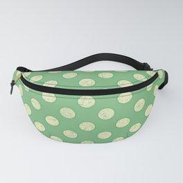 Green White Spot Fanny Pack