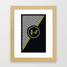 Trench Framed Art Print