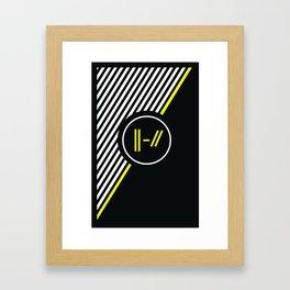 Trench Framed Art Print