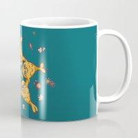 starfish Mugs featuring StarFish by Lili Batista