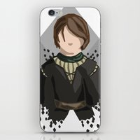 house stark iPhone & iPod Skins featuring Arya Stark by itsamoose