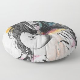 Paint a Vulgar Picture | female nude erotic portrait Floor Pillow