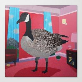 The Big Canada Goose Canvas Print